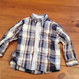 Euc boys button down Tommy Hilfiger shirt 2t